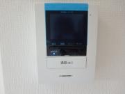 ラポール中島 402 TVモニター付インターホン