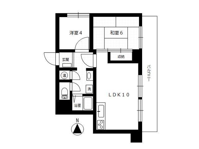 二子玉川ロイヤルマンション 301 図面