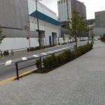 二子玉川ライズ 駐車場入口