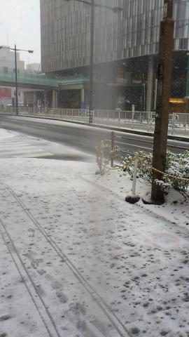二子玉川 雪