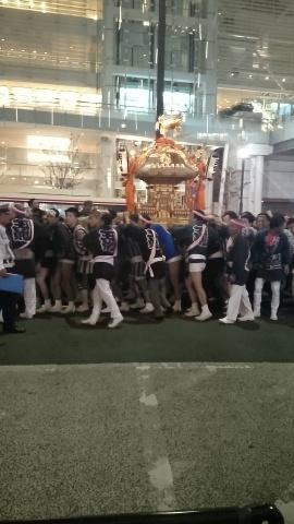 二子玉川 祭り 御神輿 C