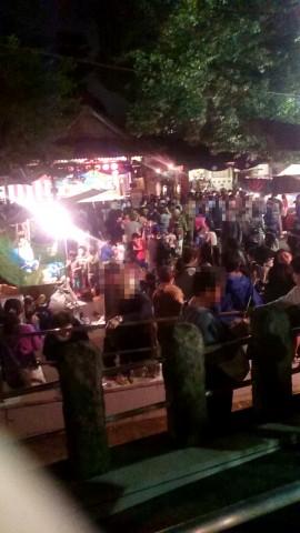 瀬田玉川神社 お祭り 2015 秋