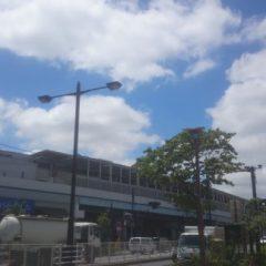 二子玉川の暑い日の写真