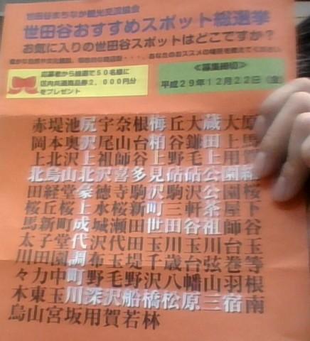 世田谷おすすめスポット総選挙